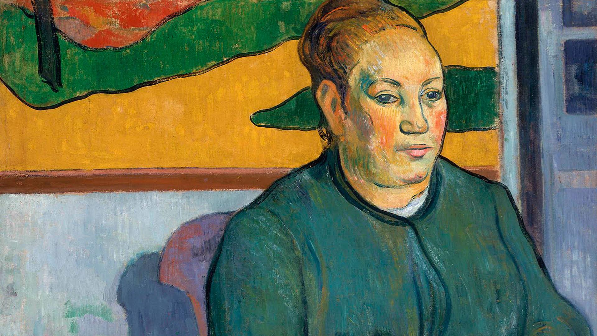 Imagen de la exposición Gauguin Portraits