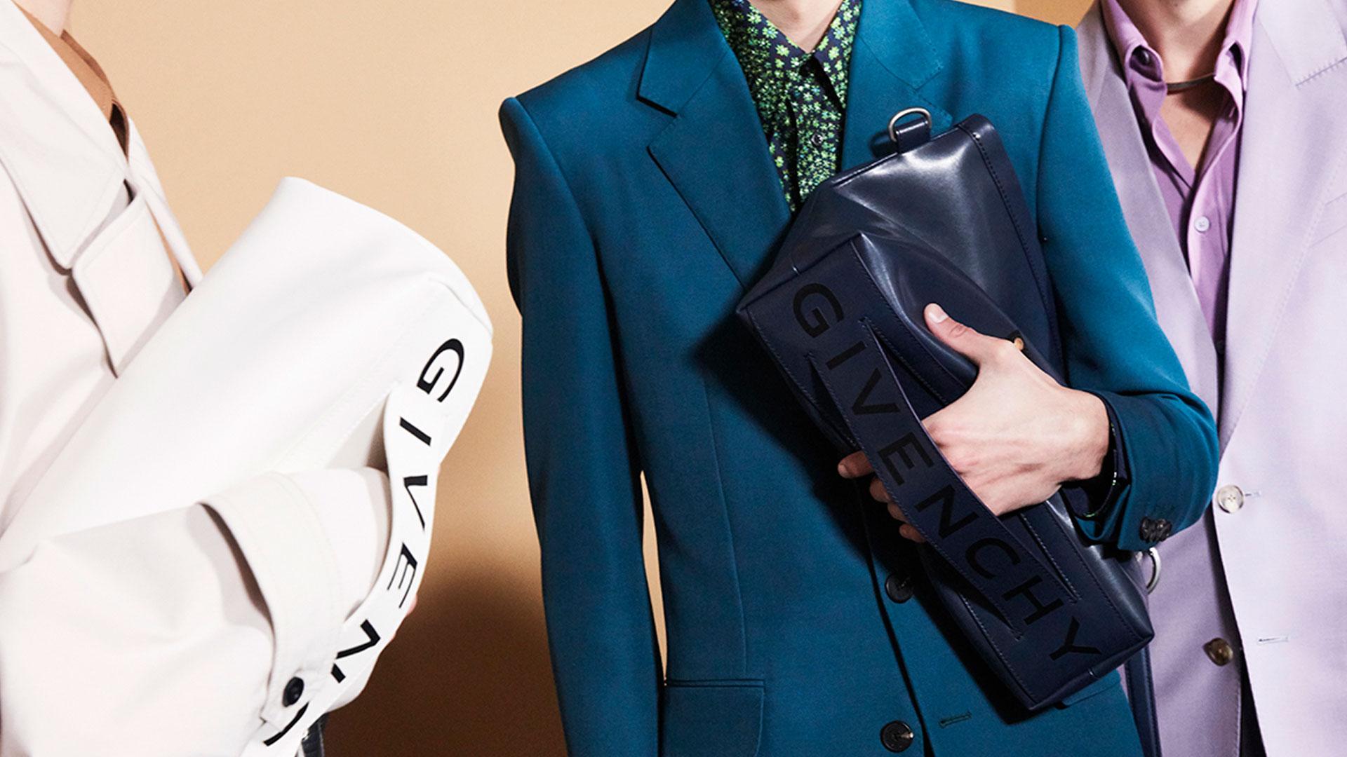 Imagen de campaña del bolso Tag Bag de Givenchy
