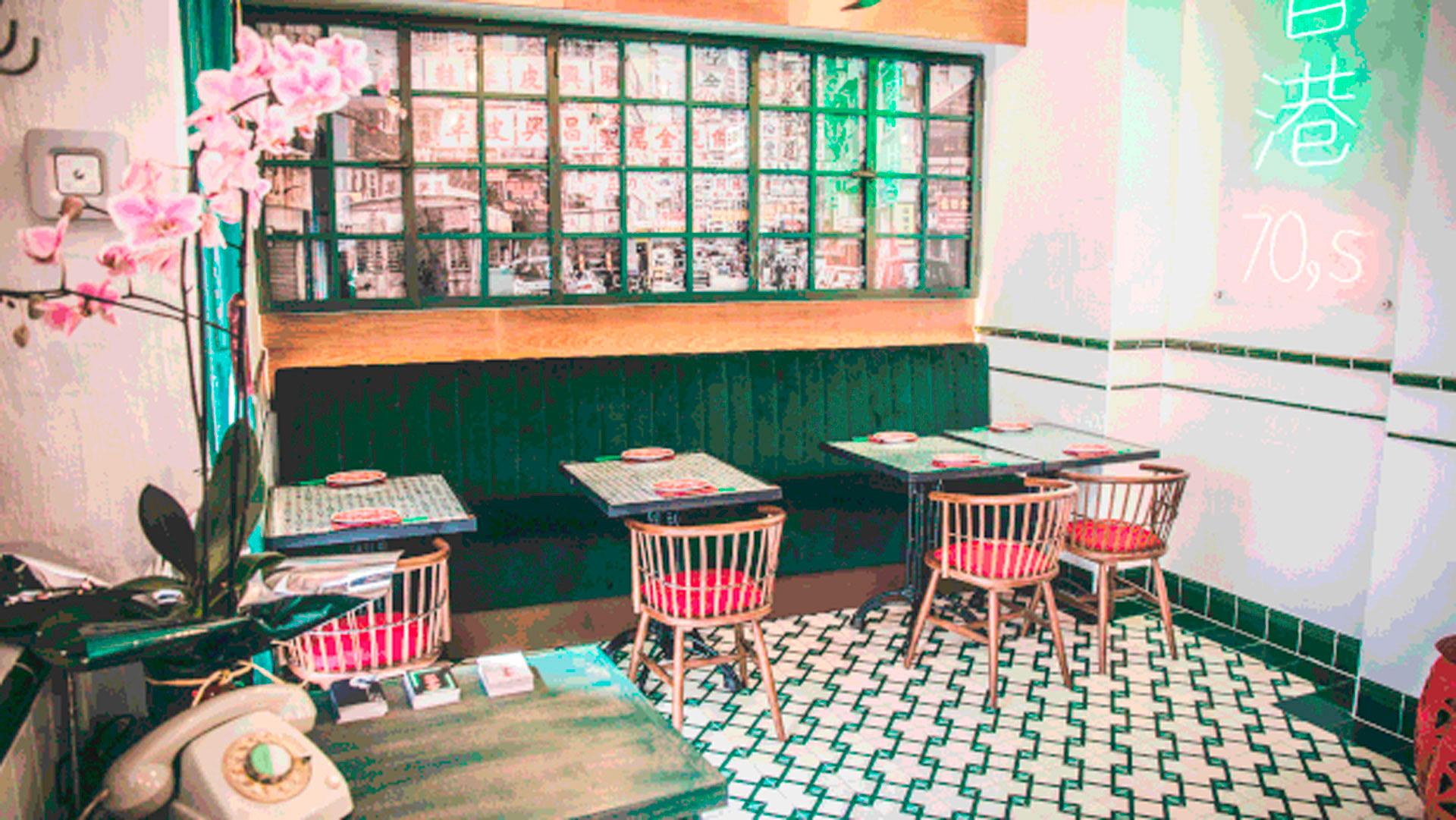 Imagen interior del restaurante Hong Kong 70