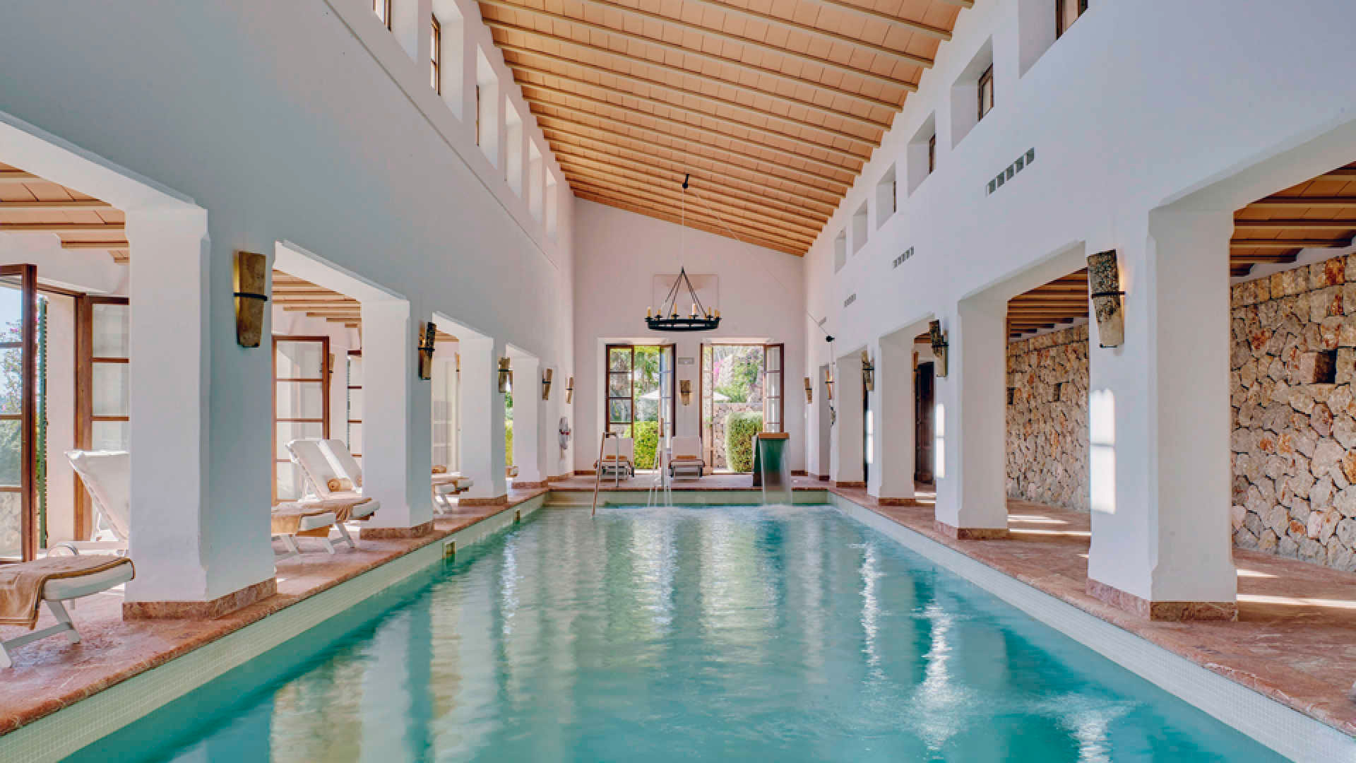 Interior del Hotel Belmond La Residencia en Mallorca