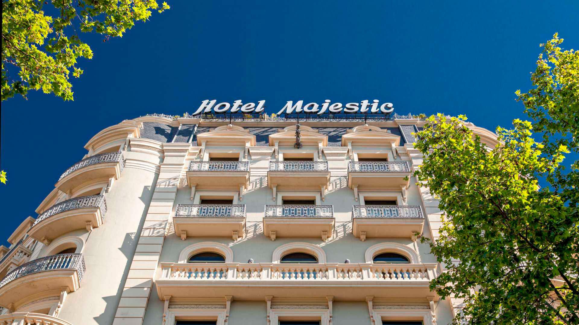 Imagen del hotel Majestic en Barcelona