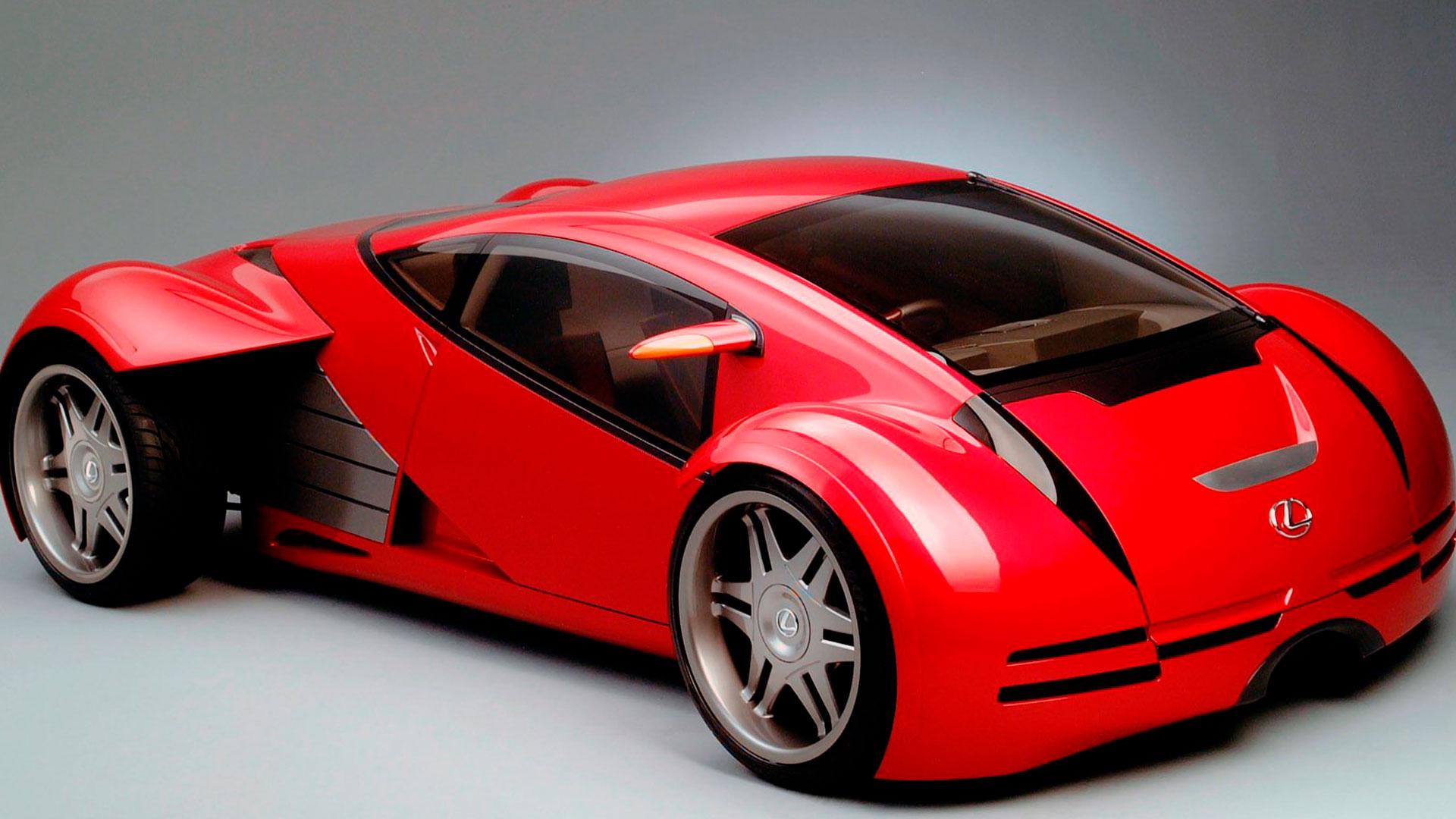 Imagen de vehículo Lexus en una película