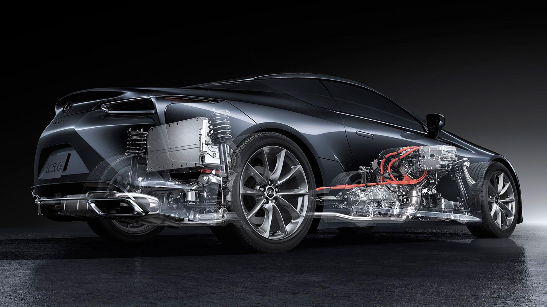 Lexus LC 2021 Rendimiento asset