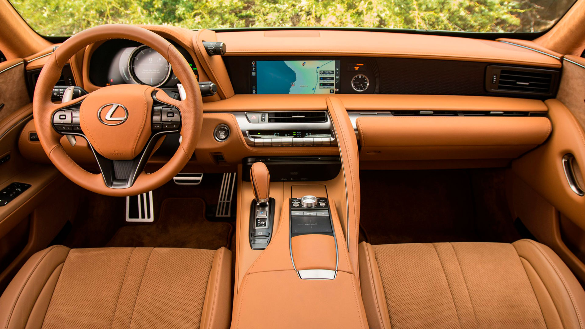 Imagen del Lexus LC 500h 2021