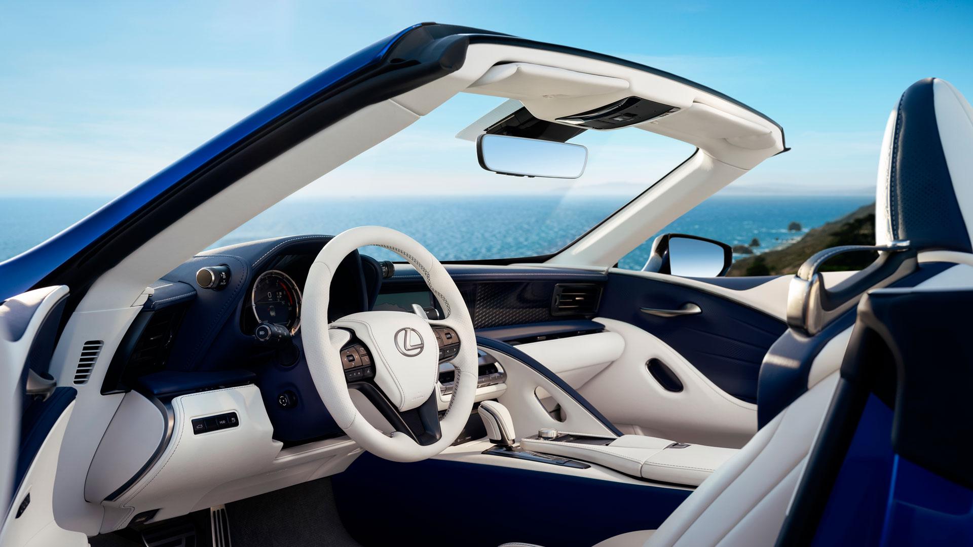 Imagen del nuevo Lexus LC 500 cabrio