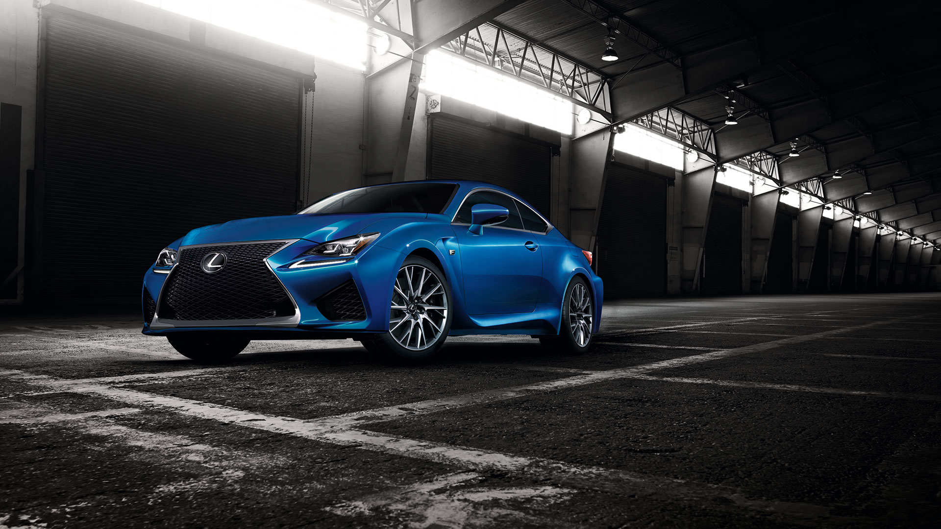Lexus RC F Carbon Package en Rally RACC hero asset