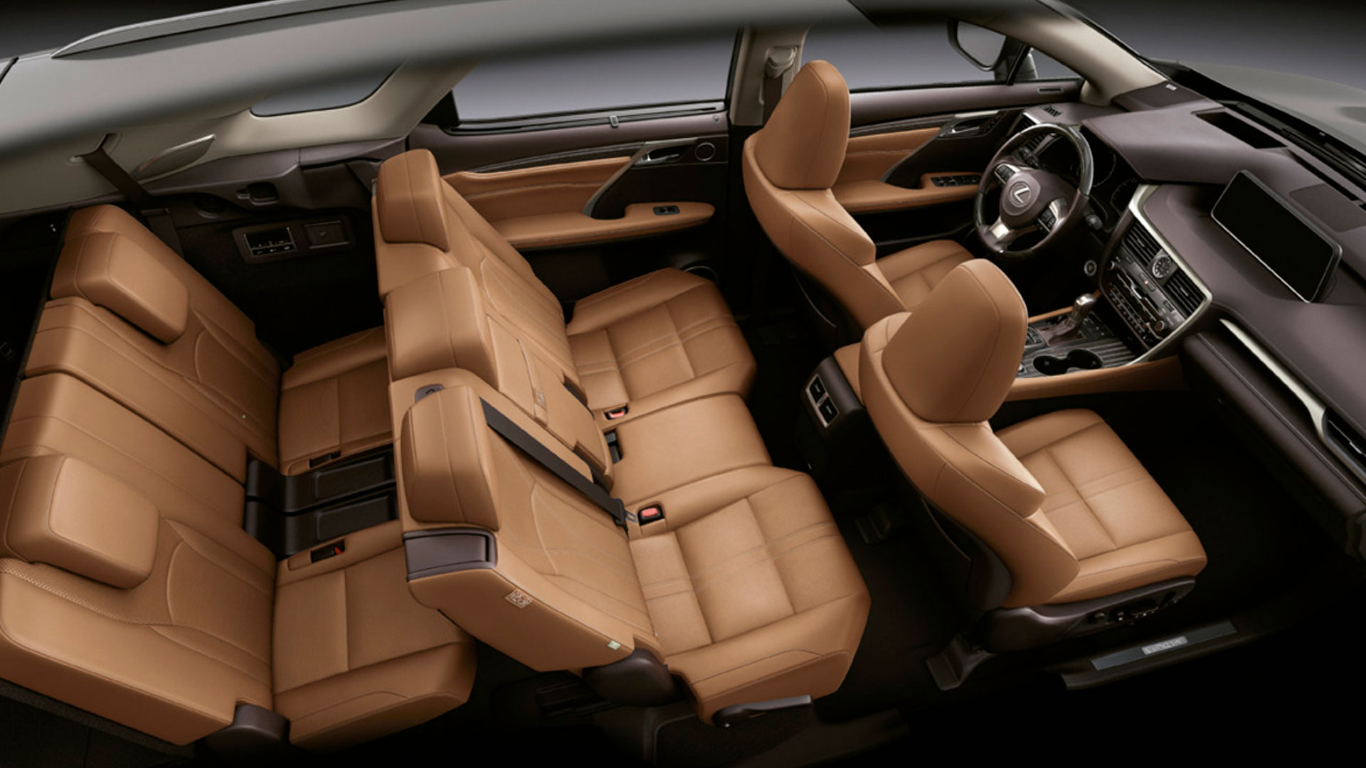 Vista interior del nuevo RX L
