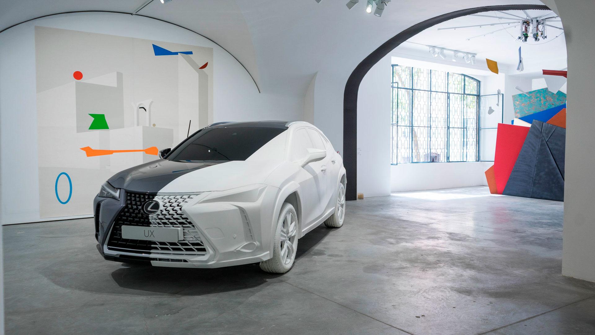Lexus abre un espacio de arte en Lisboa en torno al UX