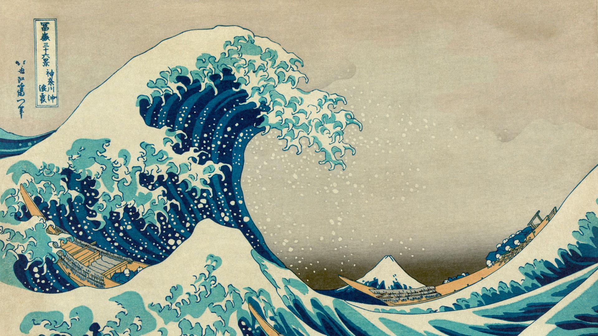 Obra de arte del monte Fuji