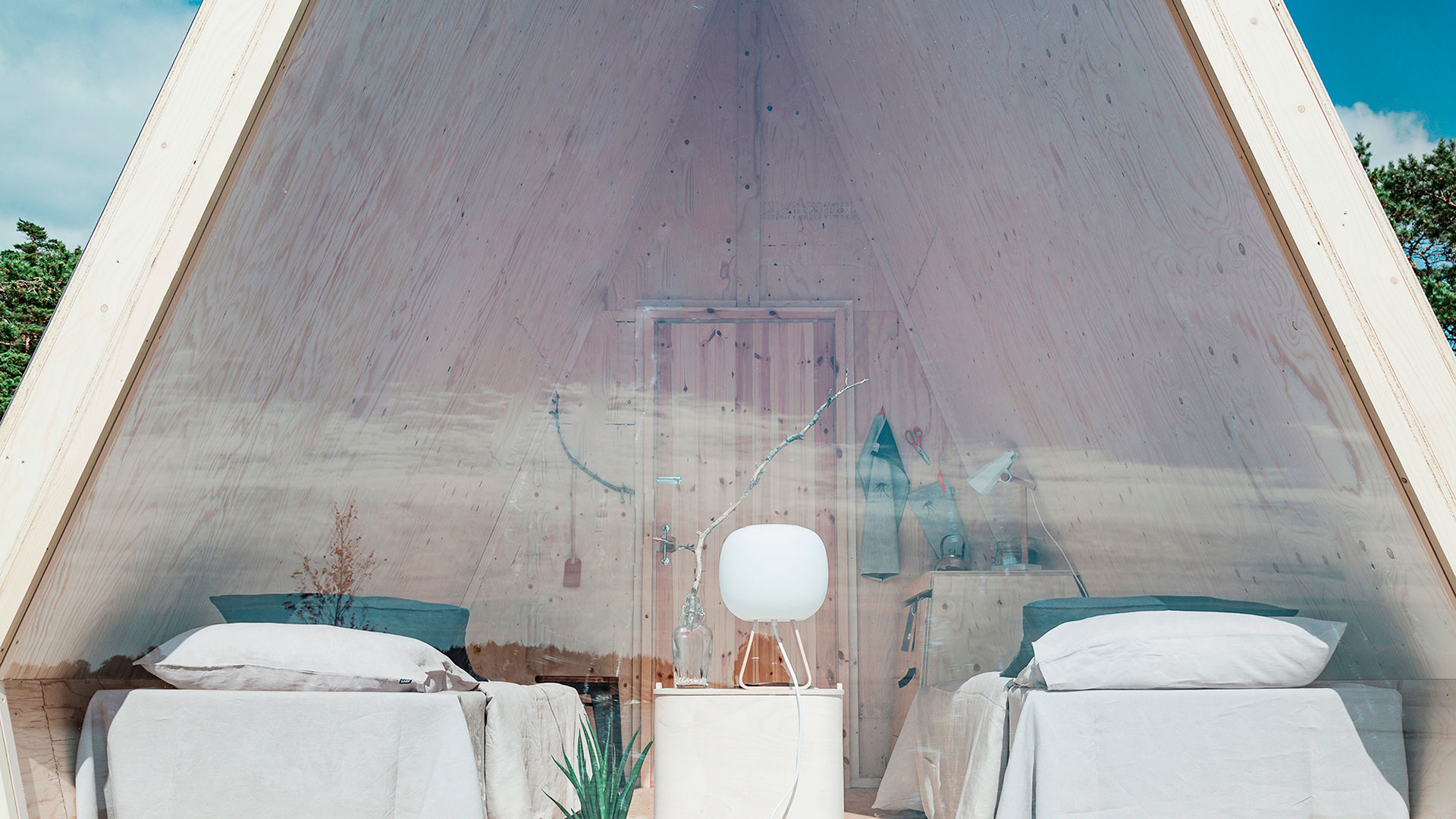 Imagen de Nolla la vivienda en forma de cabina diseñada por Robin Falck