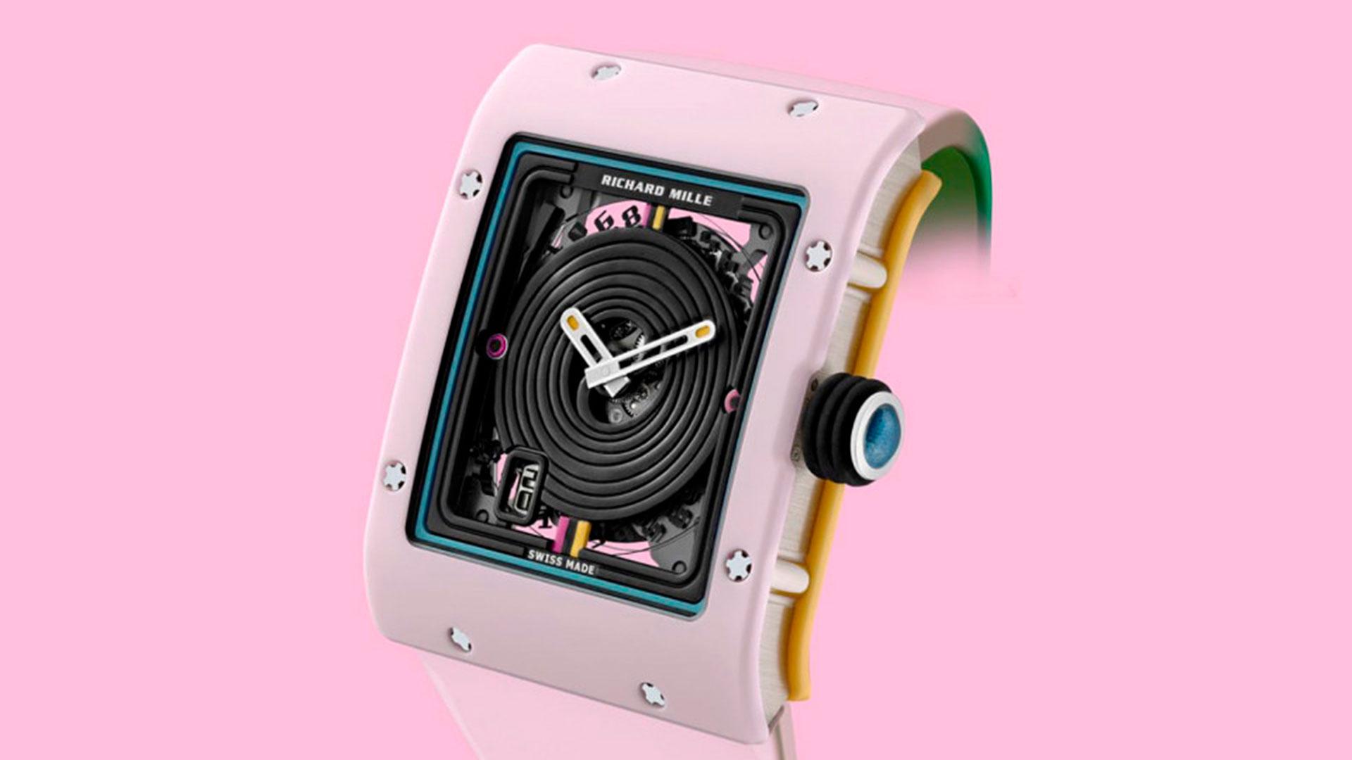 Imagen de un reloj de la colección Bonbon de Richard Mille
