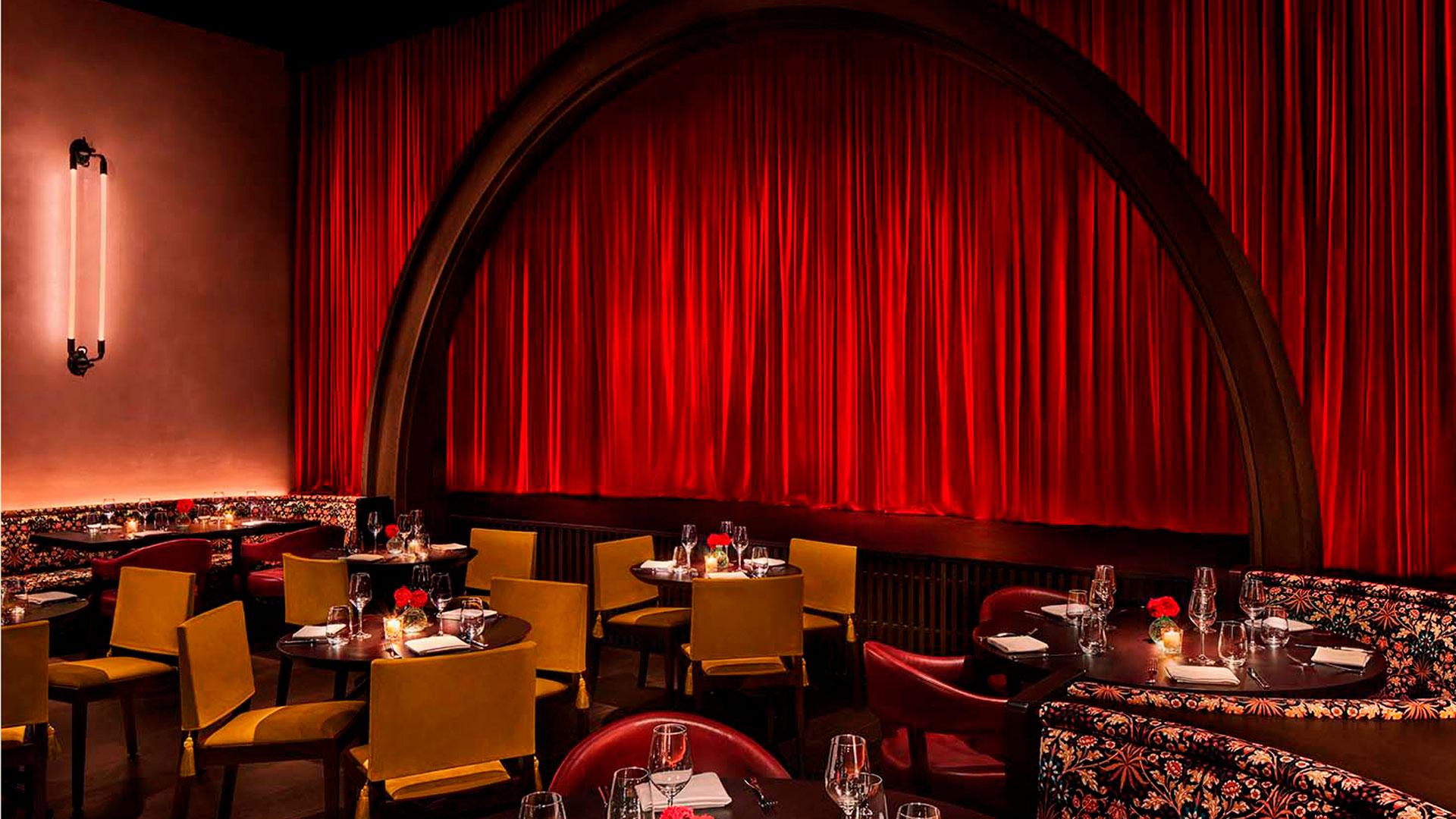 Imagen de uno de los espacios del hotel The Barcelona Edition