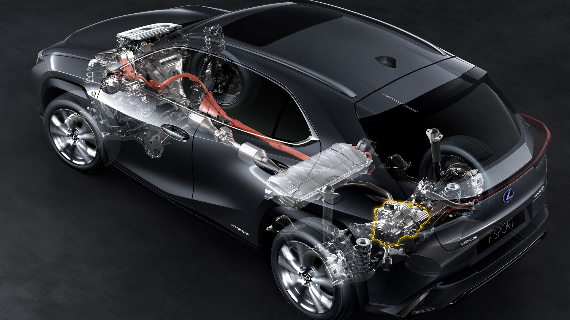 Nuevo Lexus UX autorrecargable hero asset
