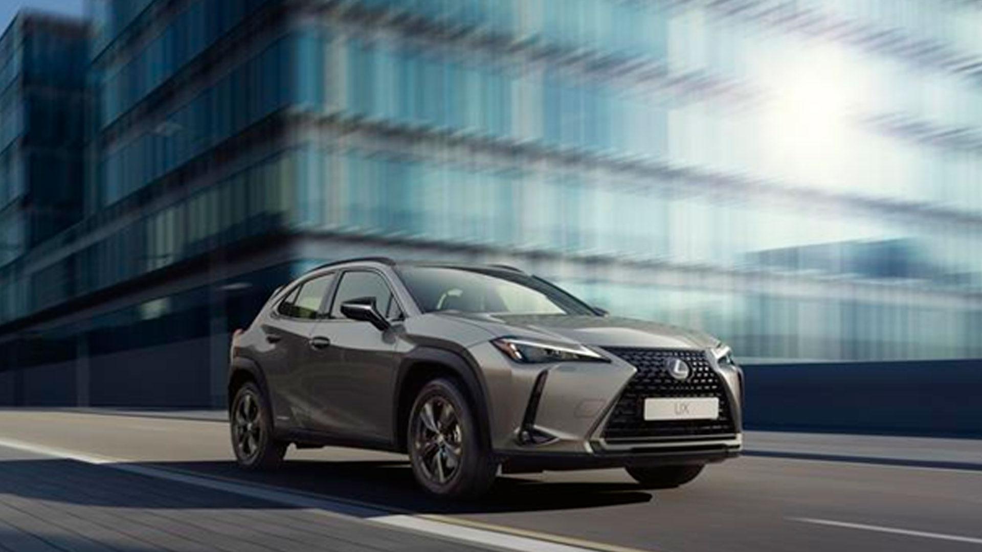 Imagen de un Lexus UX