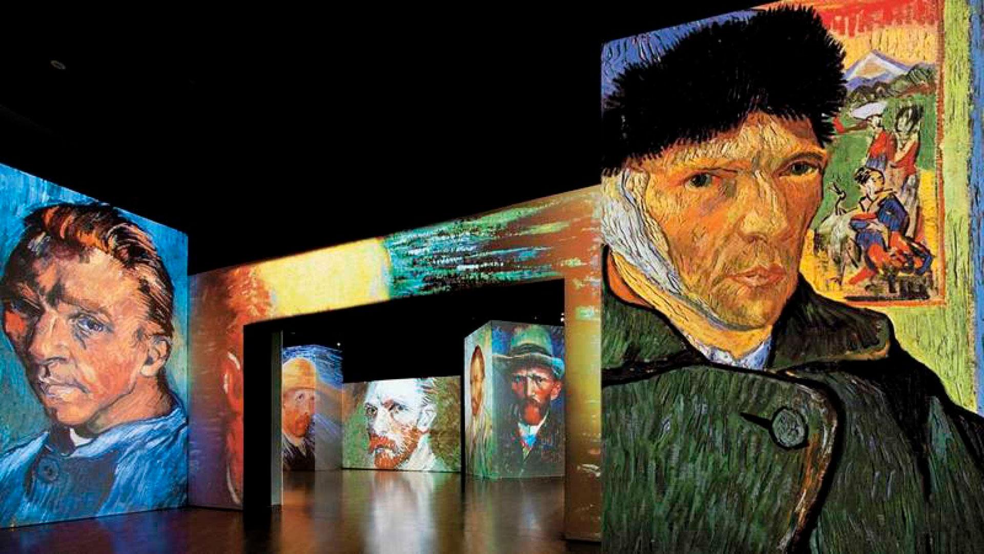 Van Gogh en estado puro hero asset