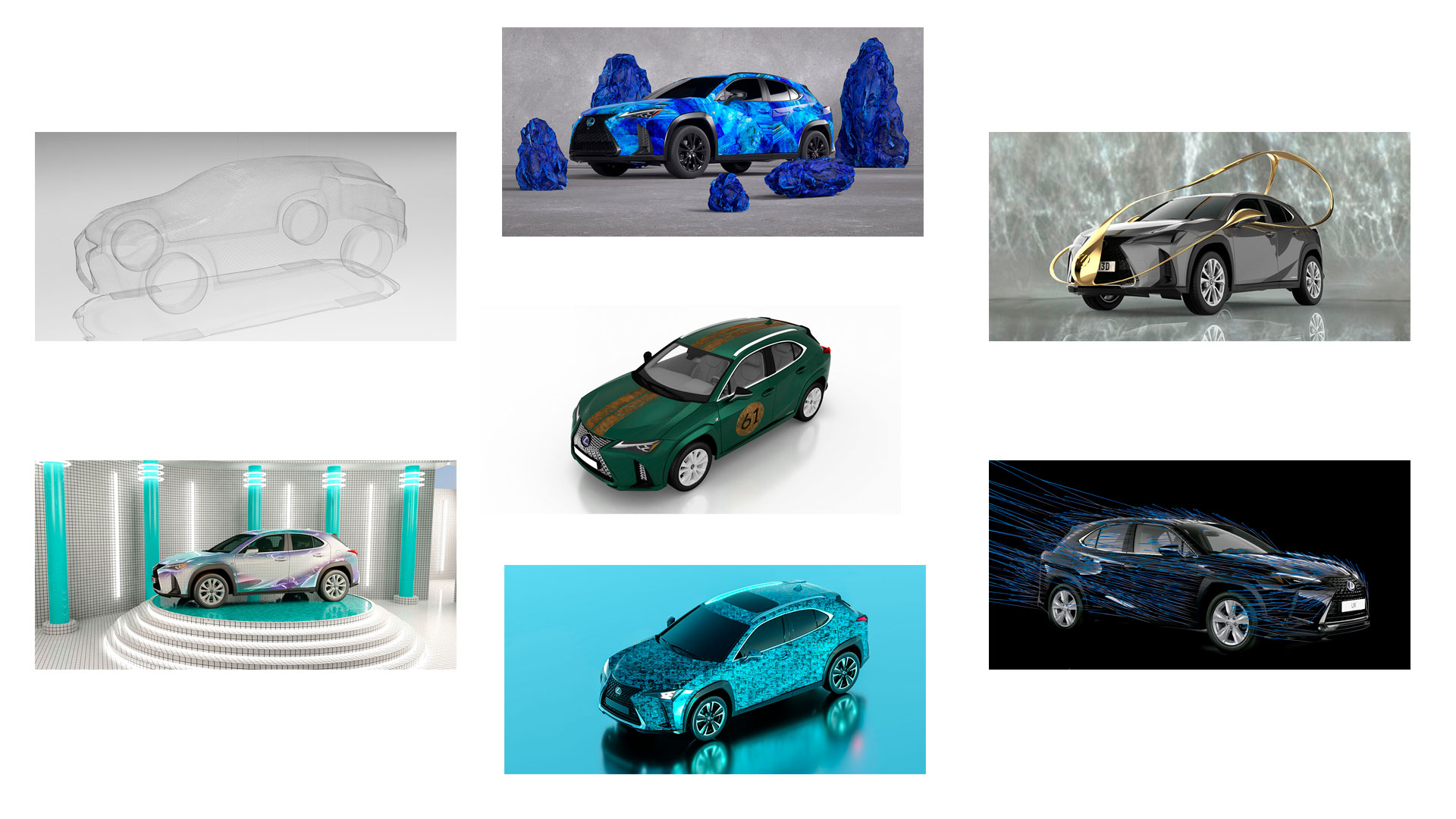 Vota aquí tu Lexus UX Art Car hero asset