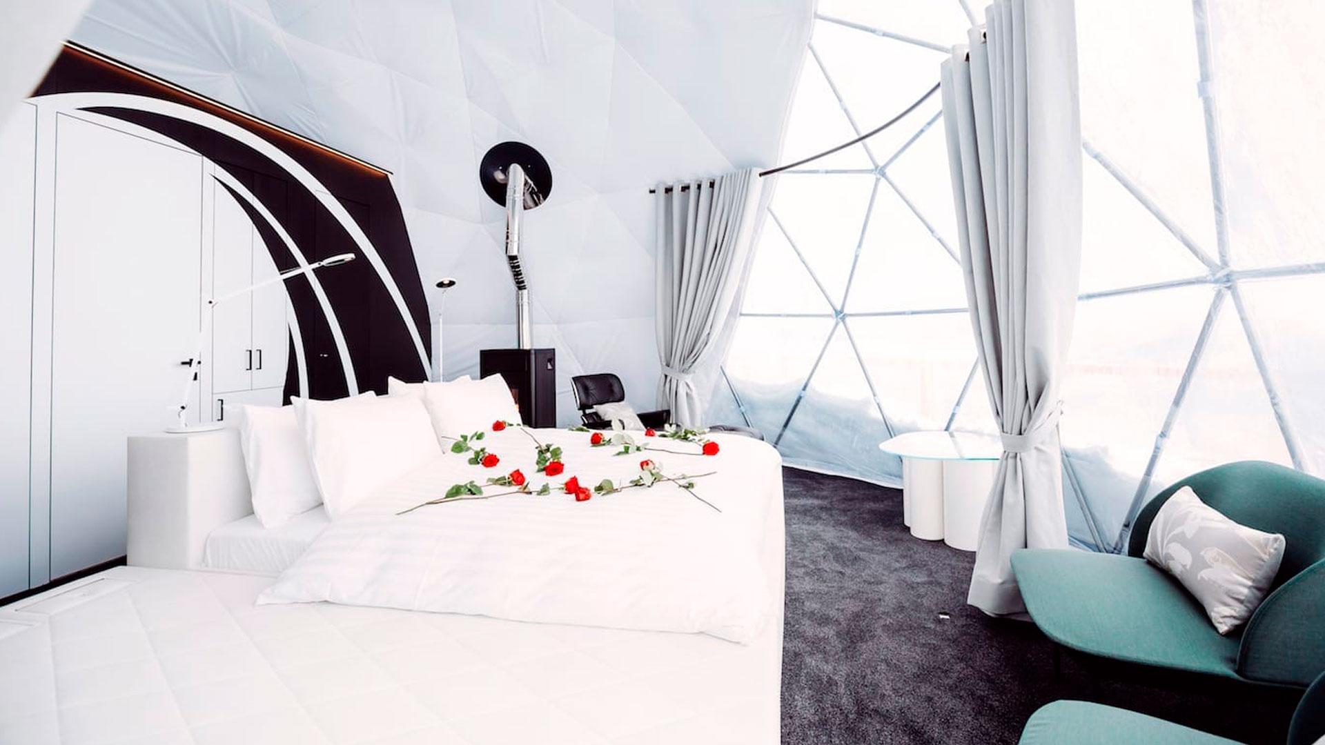 Imagen del Whitepod eco luxury hotel