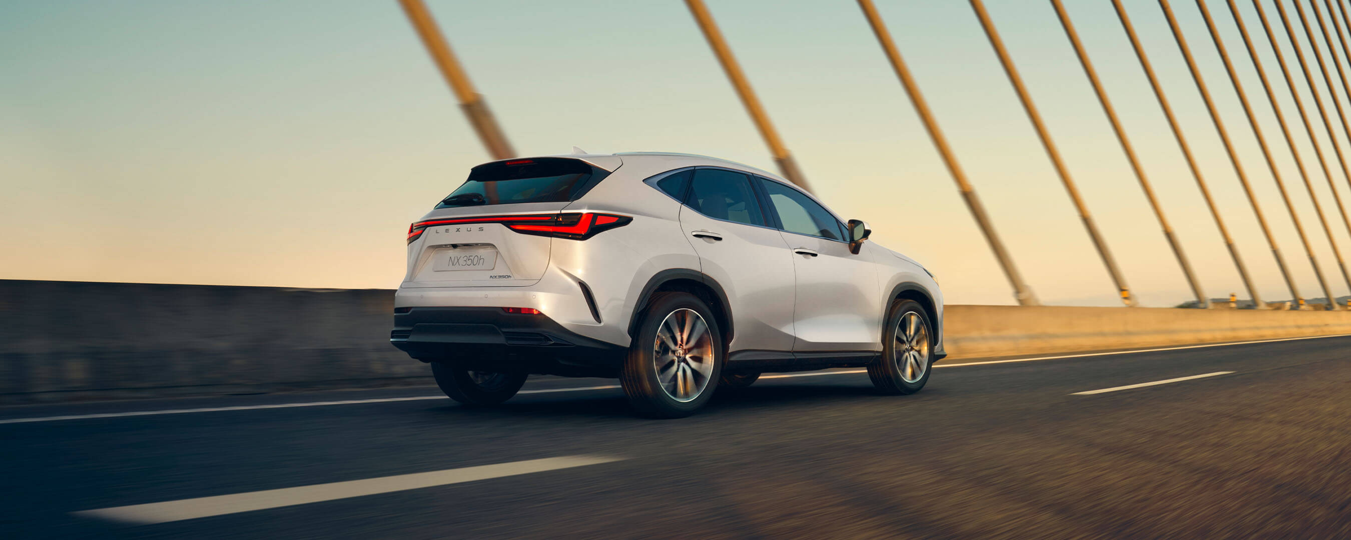 2021 lexus nx overview experience exterior back