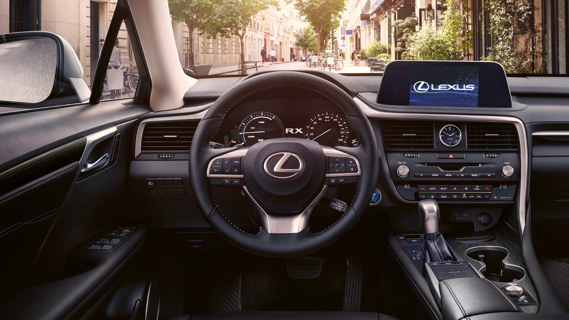 2020 lexus rxl hotspot leather steering wheel rating