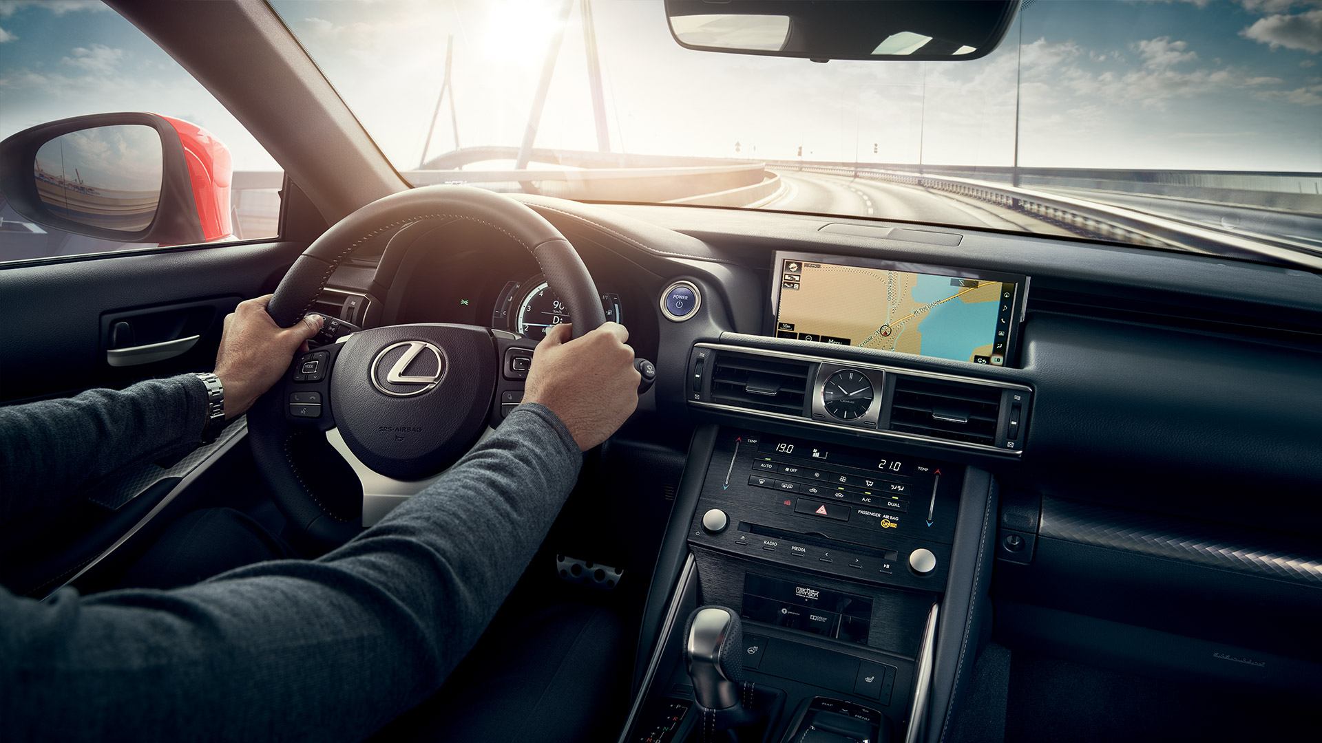 2019 lexus is 300h next steps behind wheel 001