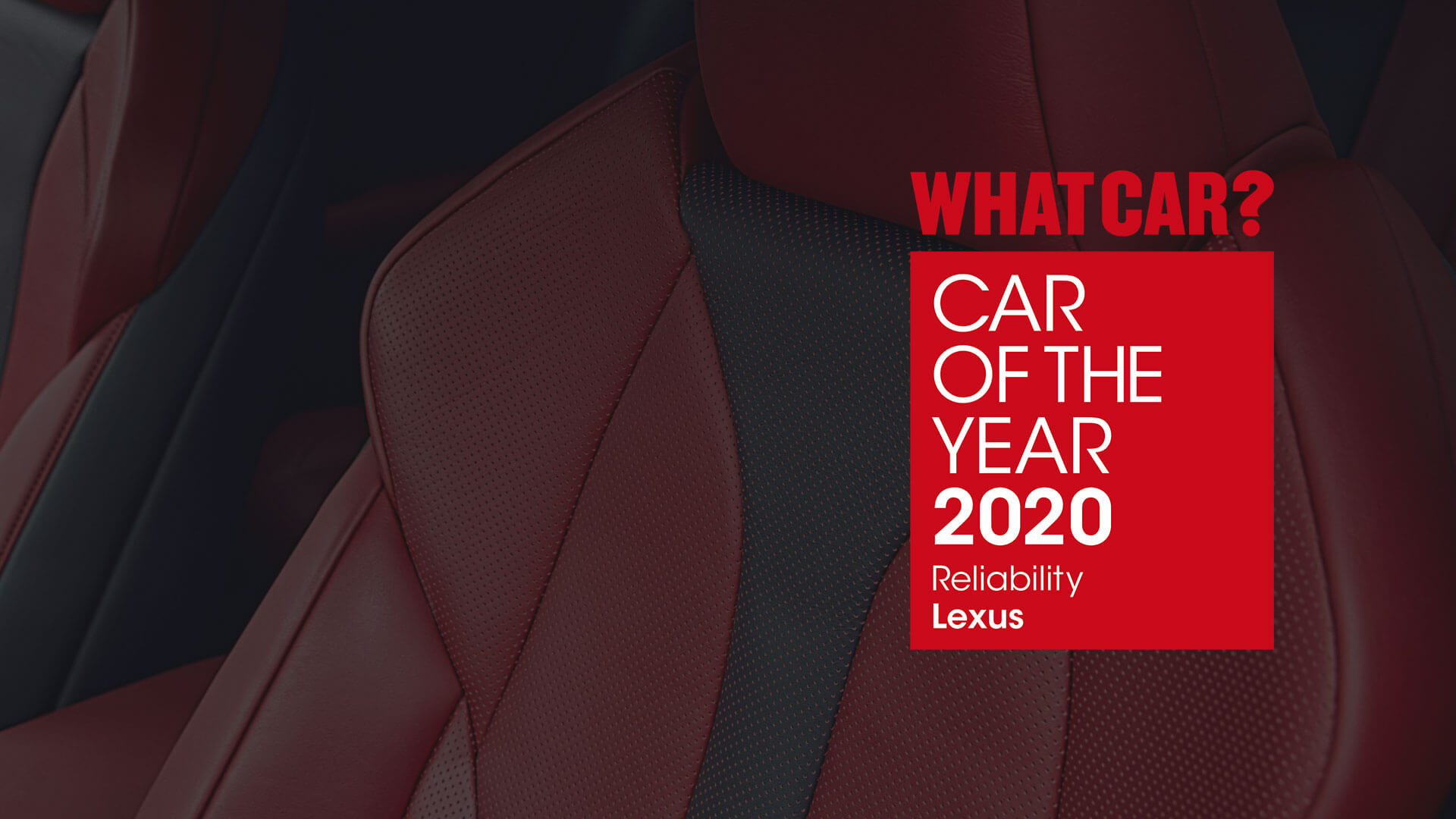 What Car Award 2020 Image