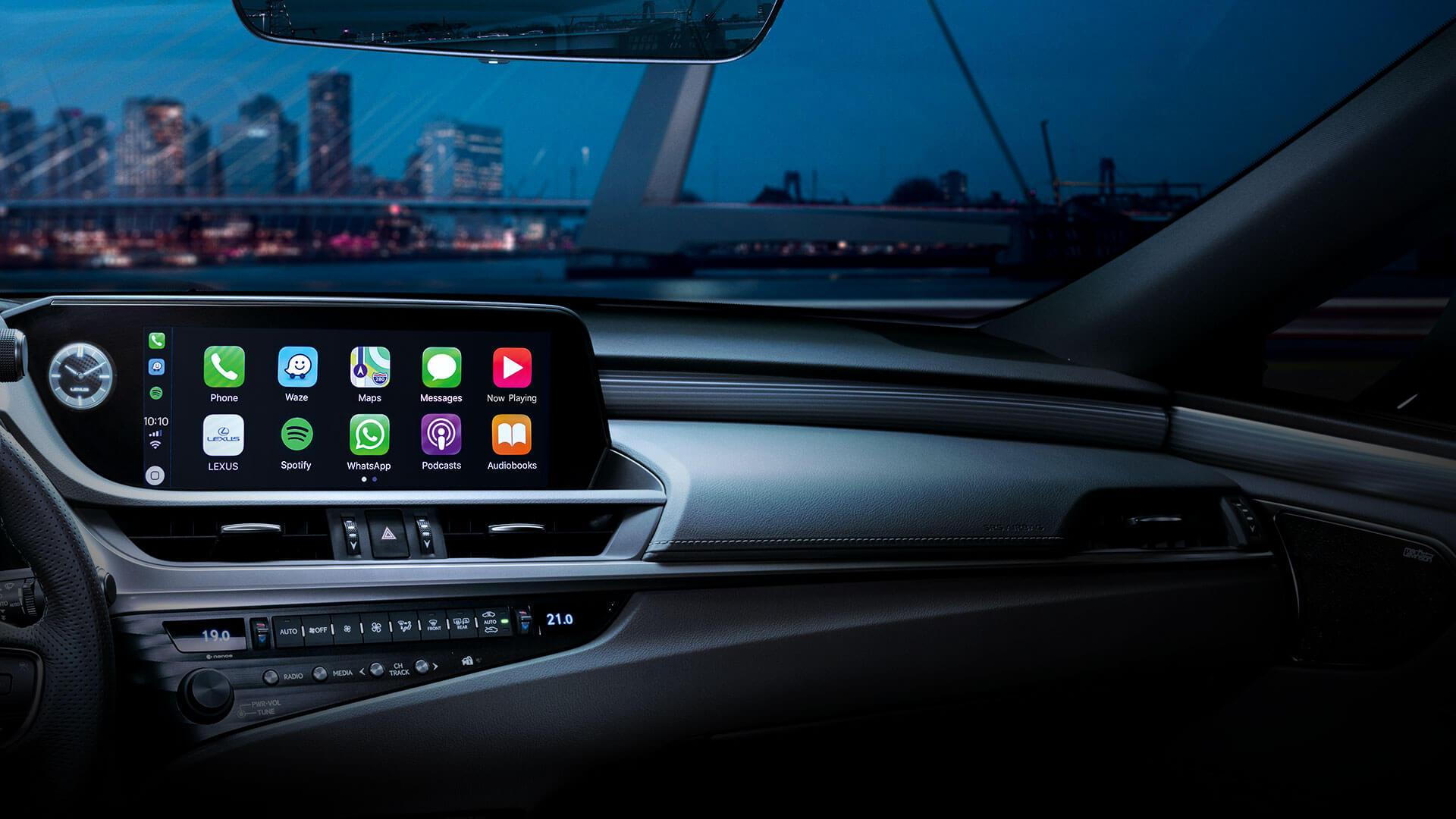 2020 lexus es key features carplay
