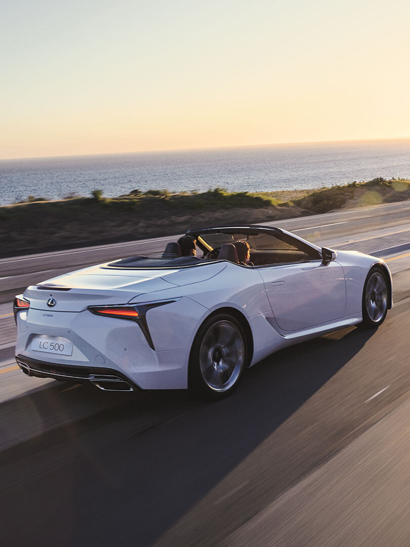 2020 lexus lc convertible slr exhilarating performance