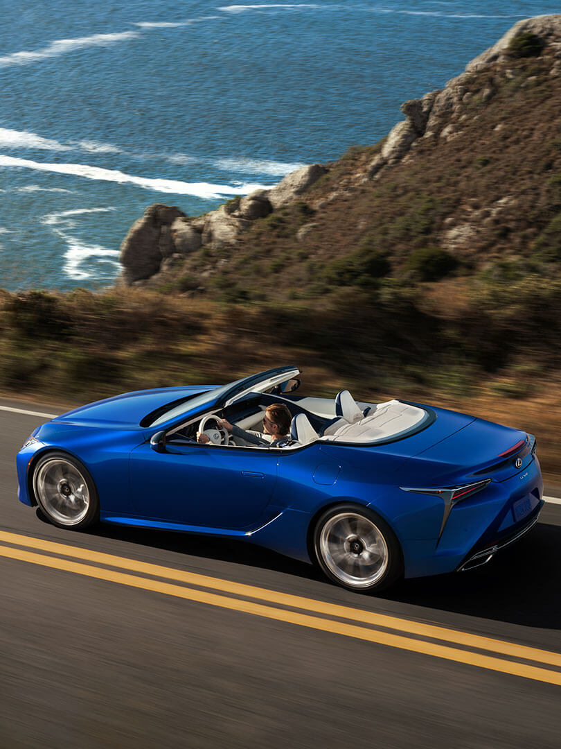 2020 lexus lc convertible slr safety