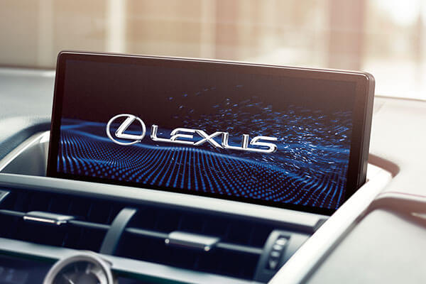 2020 lexus suv nx features multimedia screen 3x2