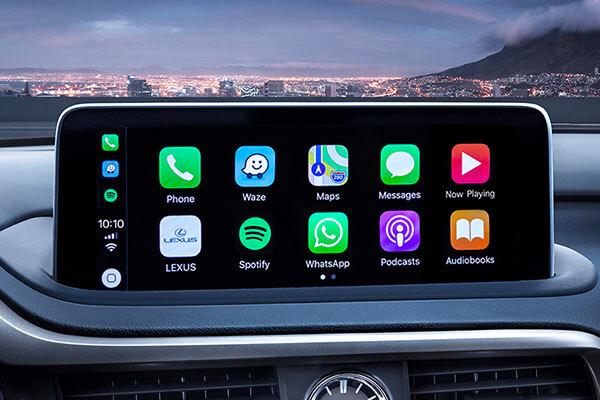 2020 lexus suv rx features multimedia screen 3x2