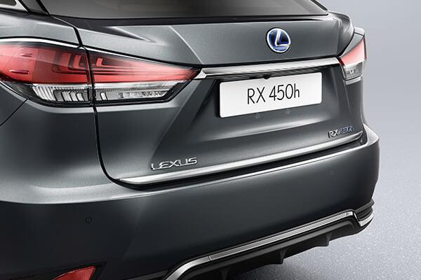 2020 lexus suv rx rxl accessories rear boot door trim 3x2