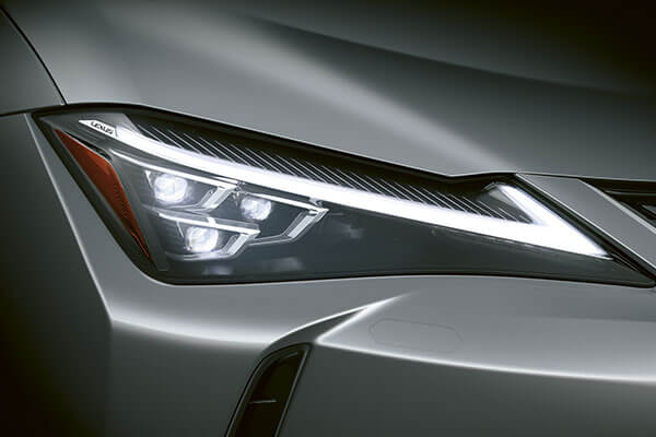 2020 lexus suv ux features 3 eye led headlight 3x2