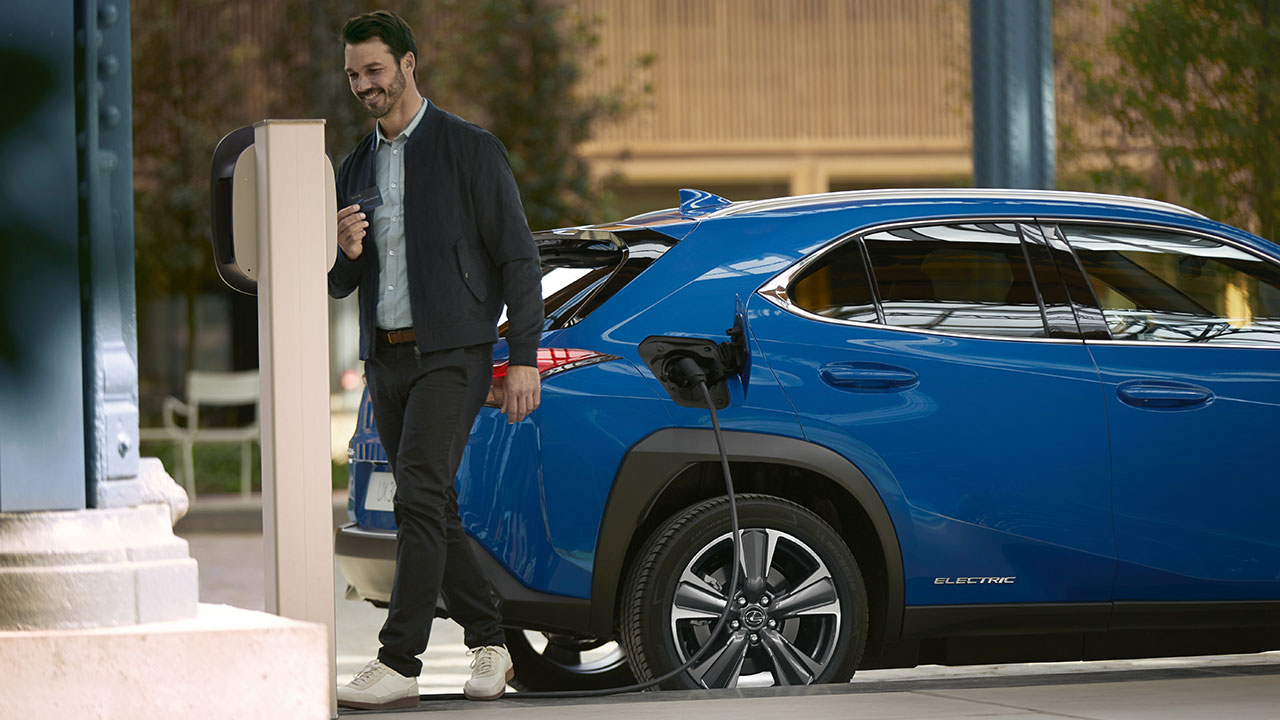 2021 lexus all electric home charging next step how all electric works