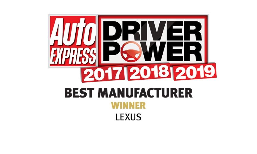 Lexus Driver Power Awards 2019 Best Manufacturer Intro Hero Image