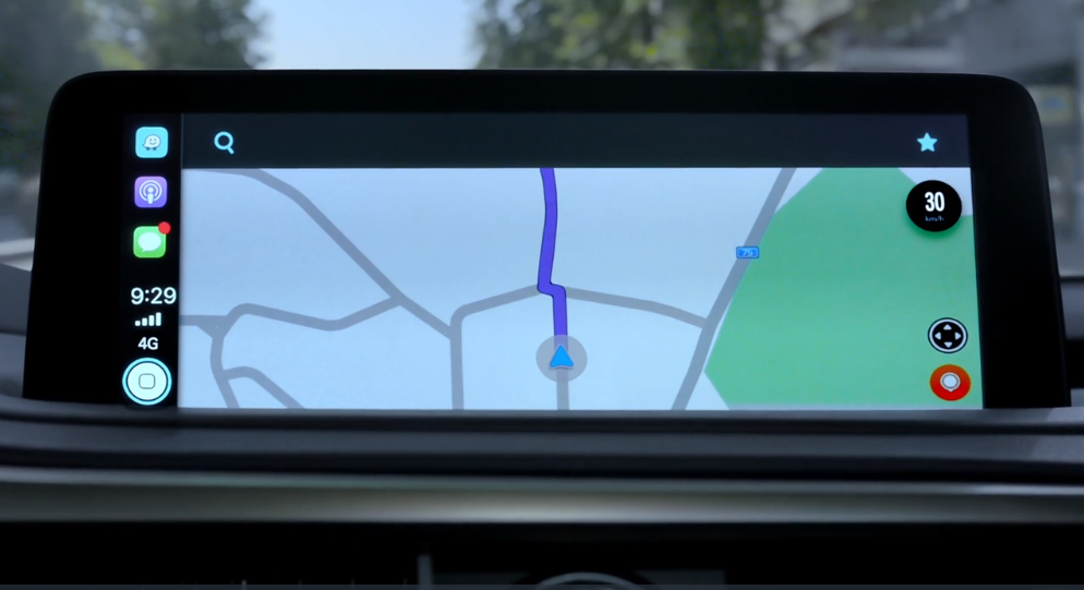 Apple Car play maps