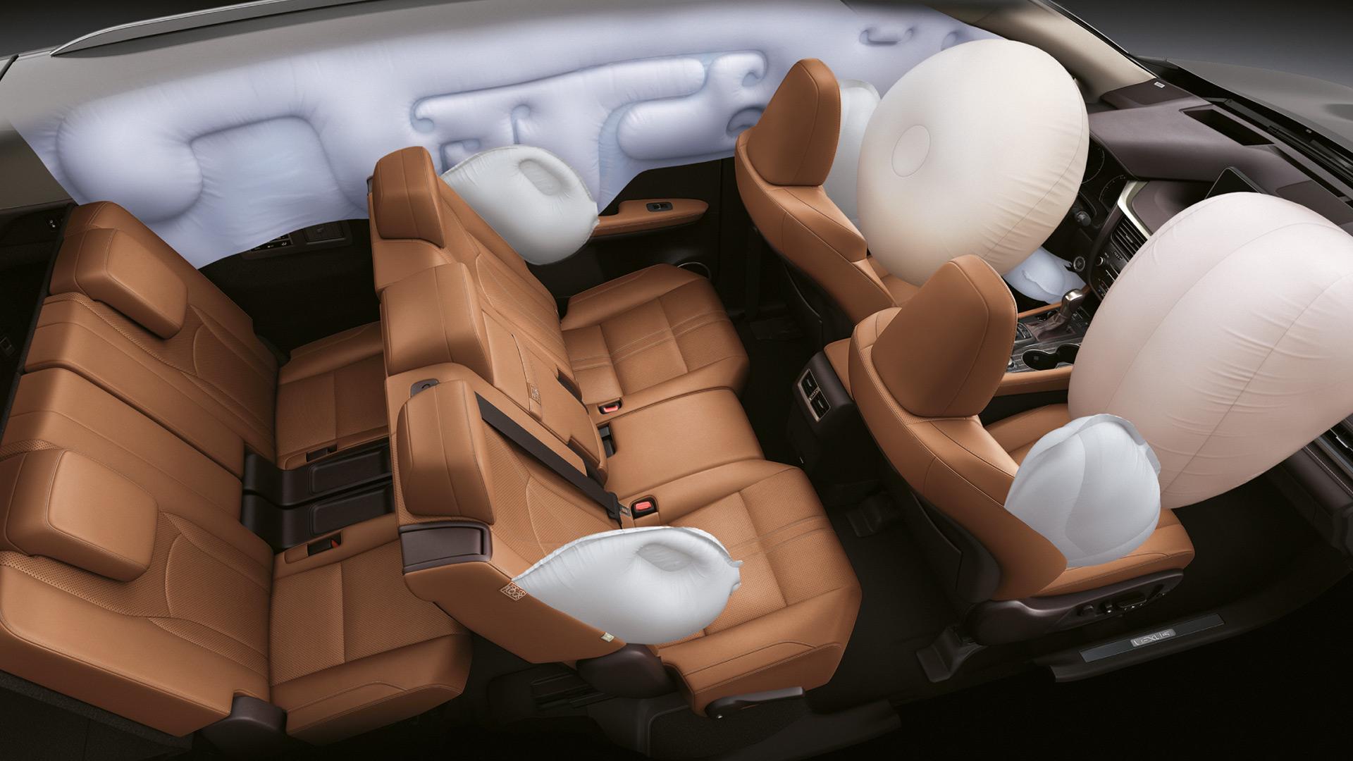 2020 lexus rxl hotspot 10 airbags