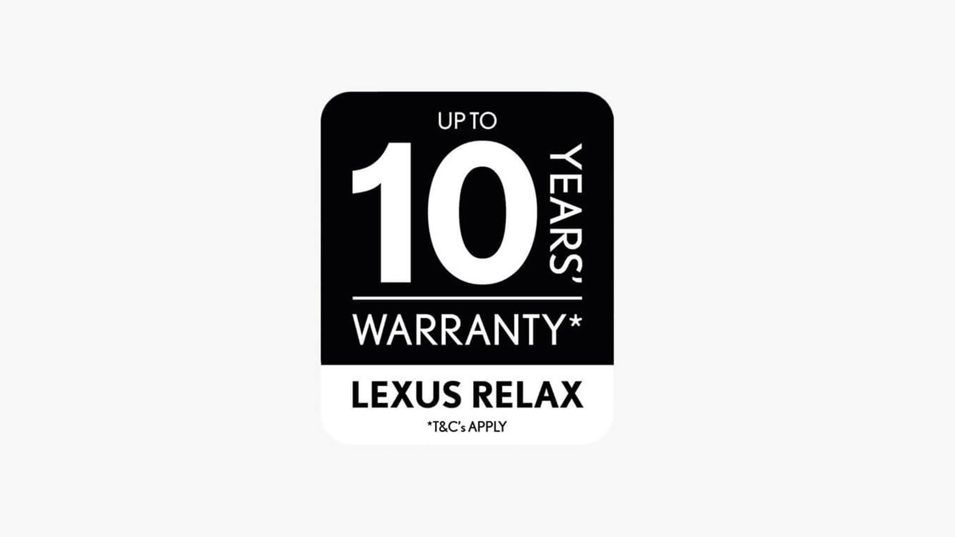 Lexus Warranty Logo