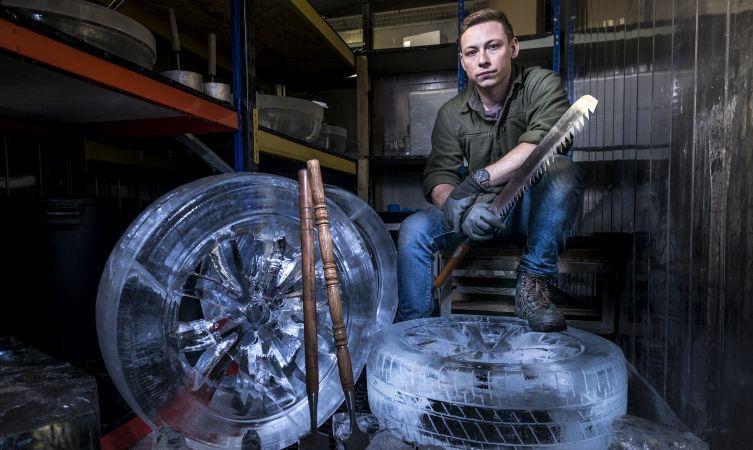 Lexus Unexpected Ice Wheels Image
