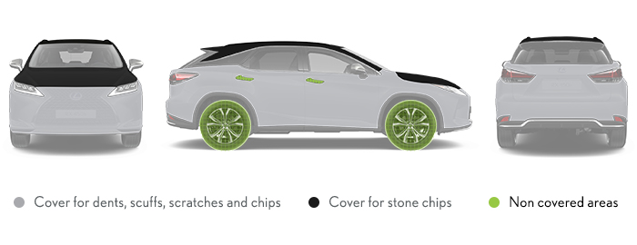 Lexus Smart Cover Diagram