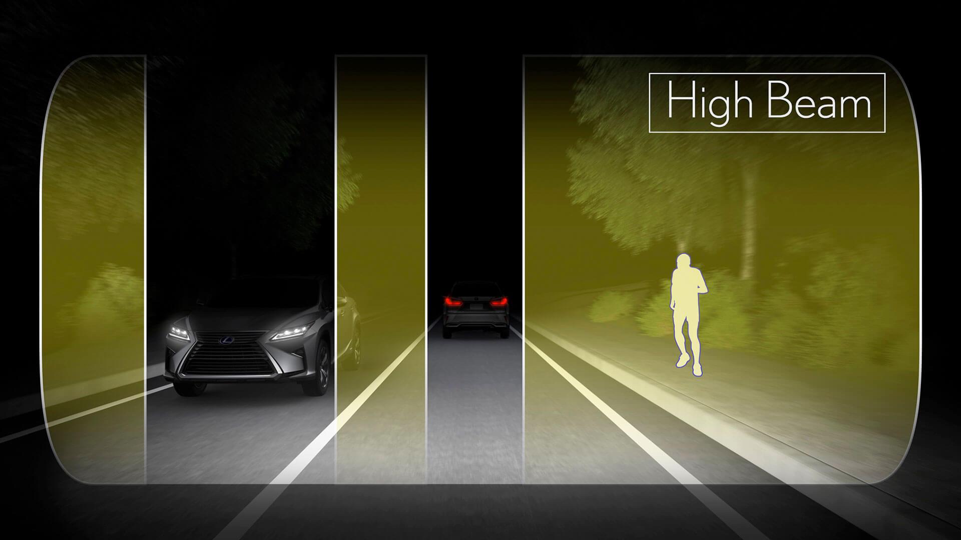2017 lexus rx 200t features high beam