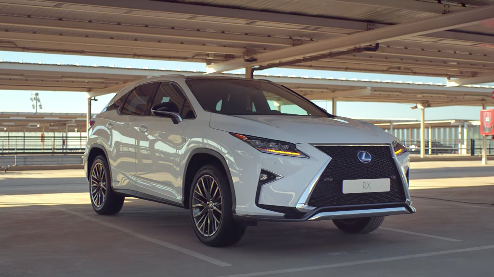 2017 lexus rx 450h tvc video