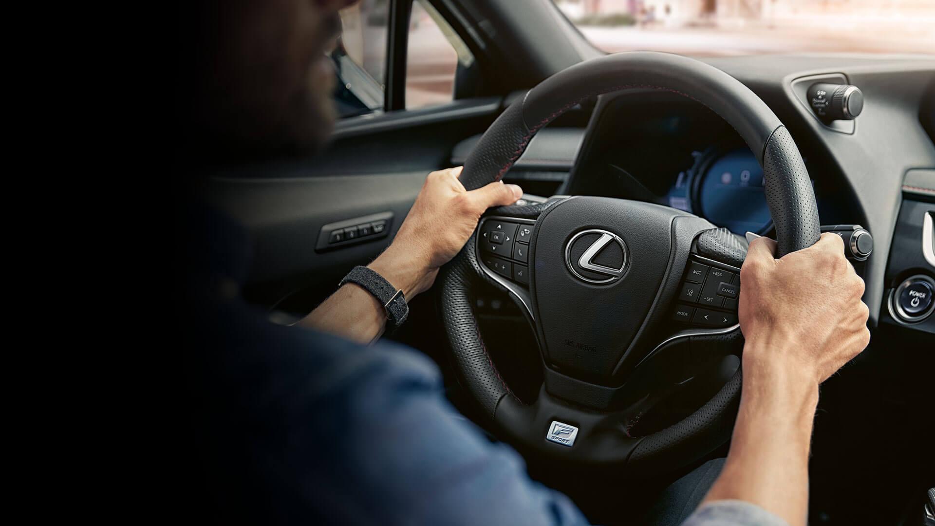 2021 lexus ux banner test drive