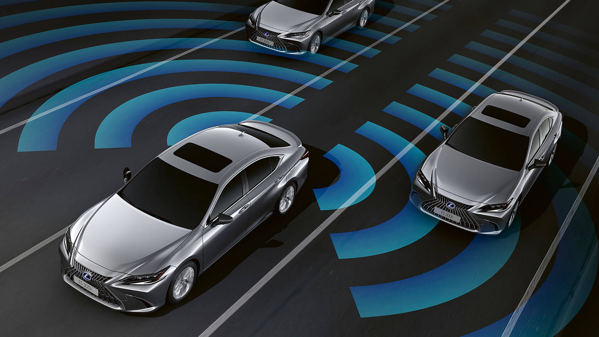 2022 lexus es experience exterior front blind spot monitor