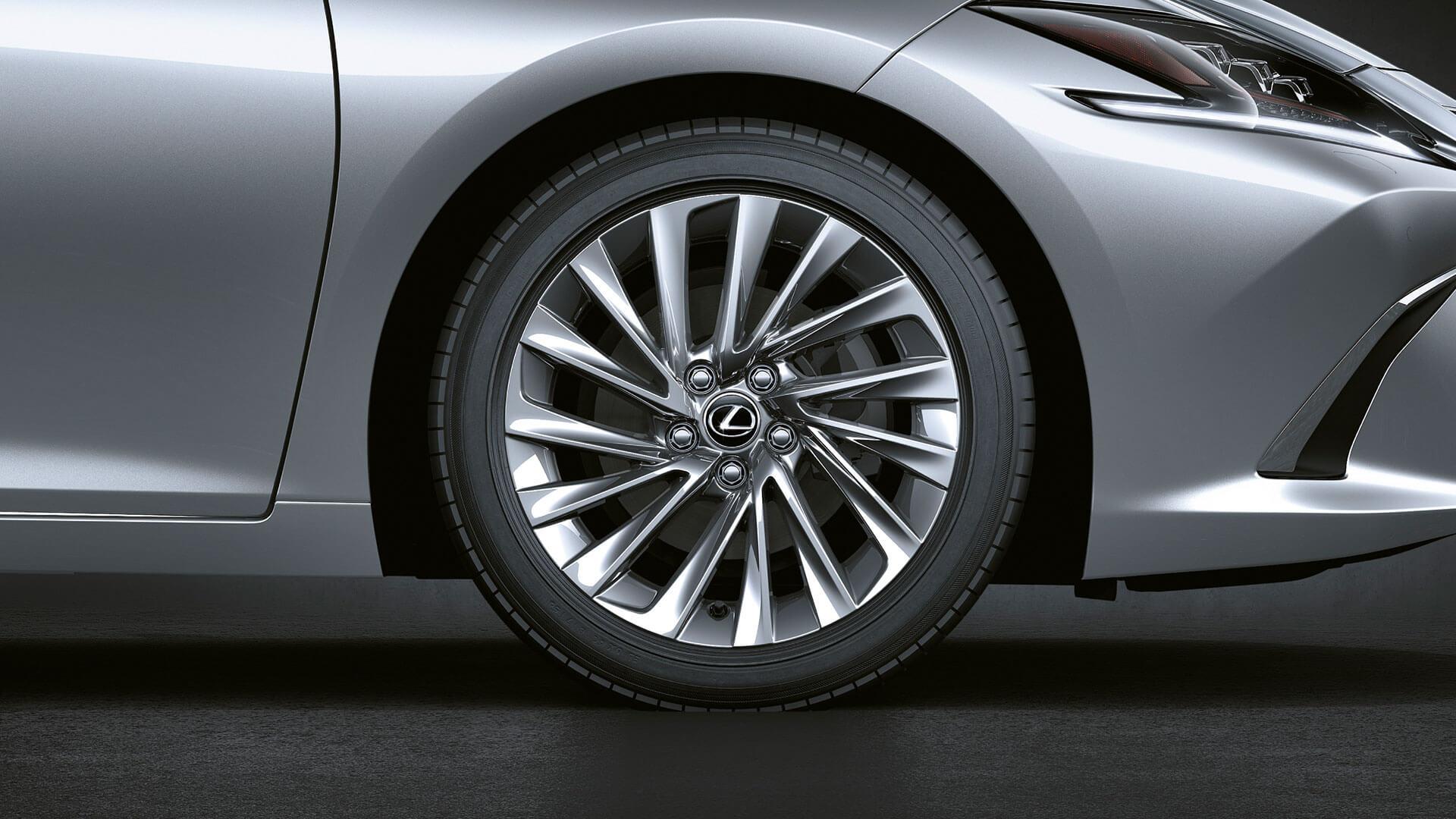 2019 lexus es 250 experience feature noise reducing wheels
