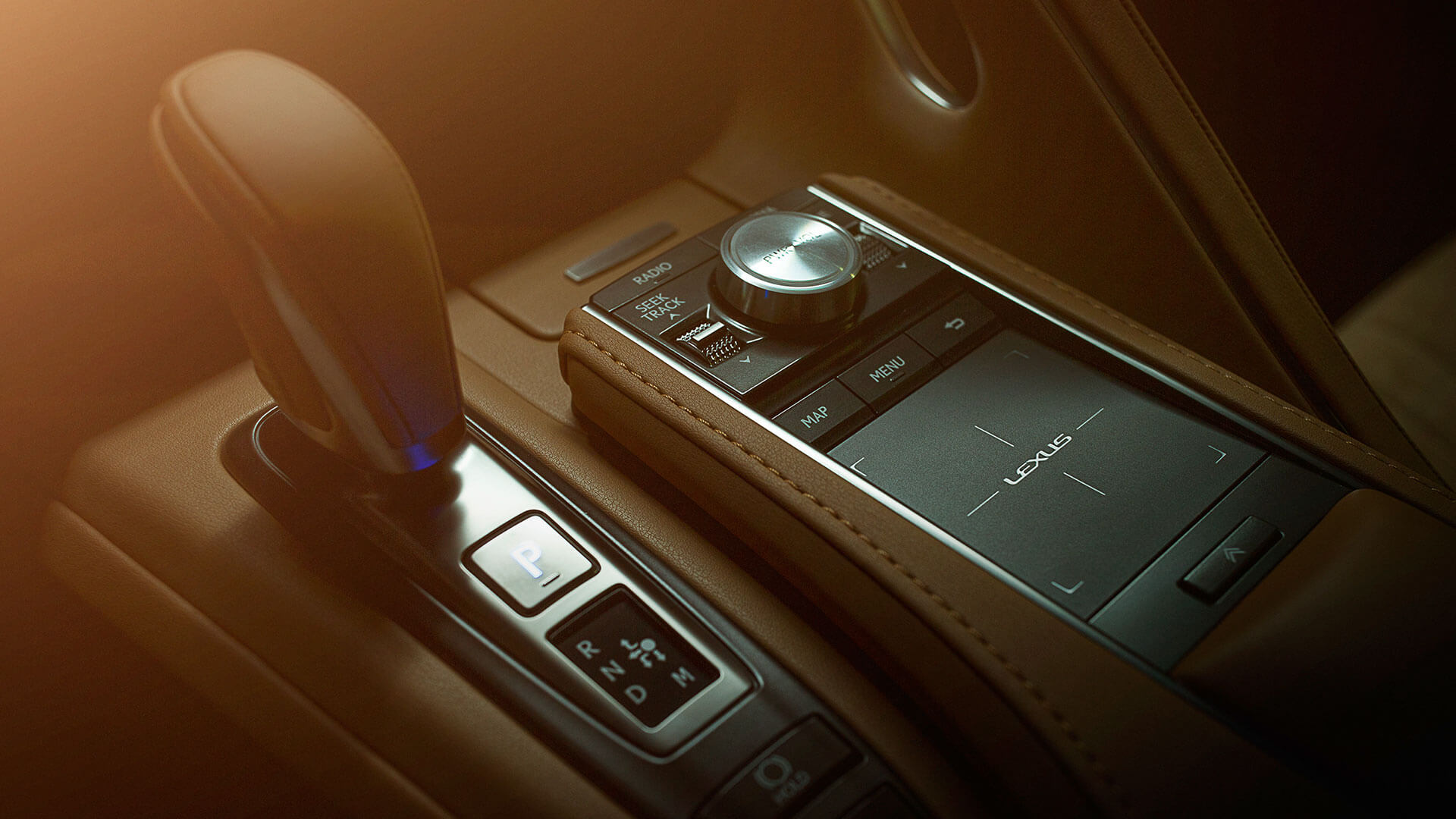 2017 lexus lc features shift knob