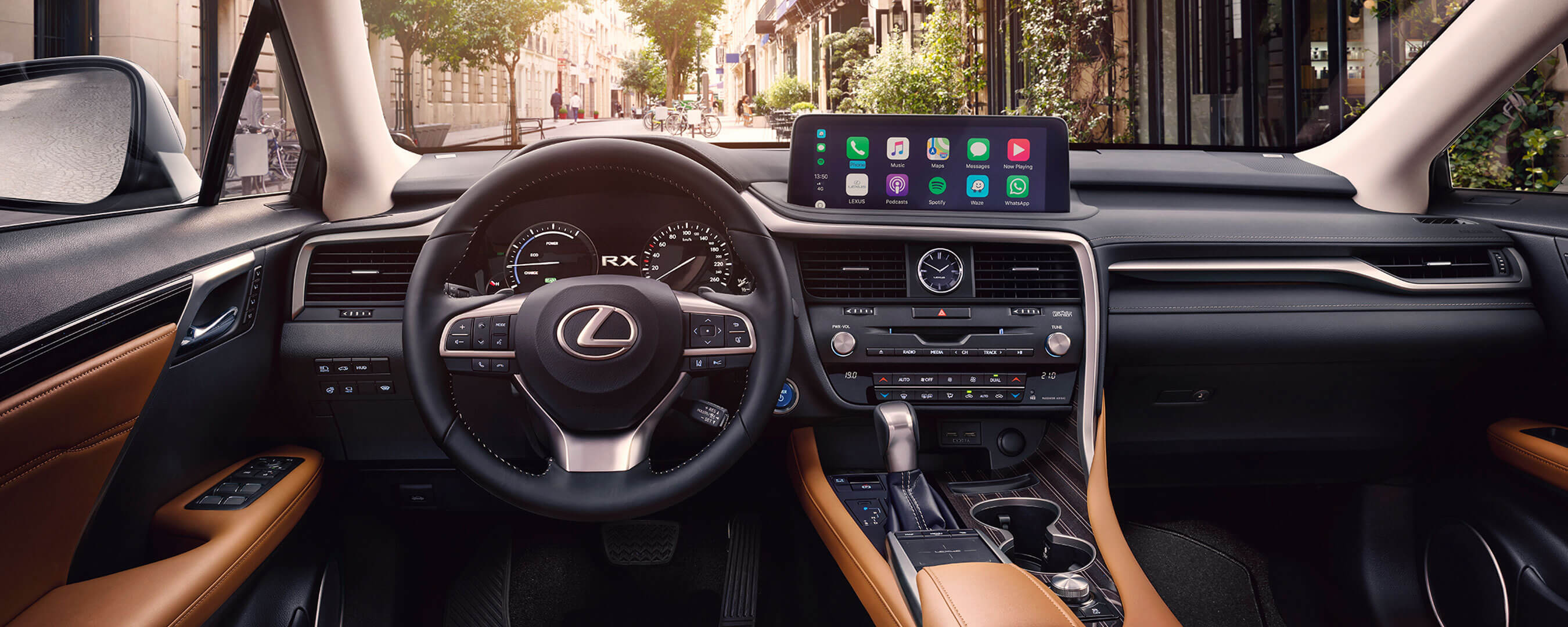 2019 lexus rxl experience interior front