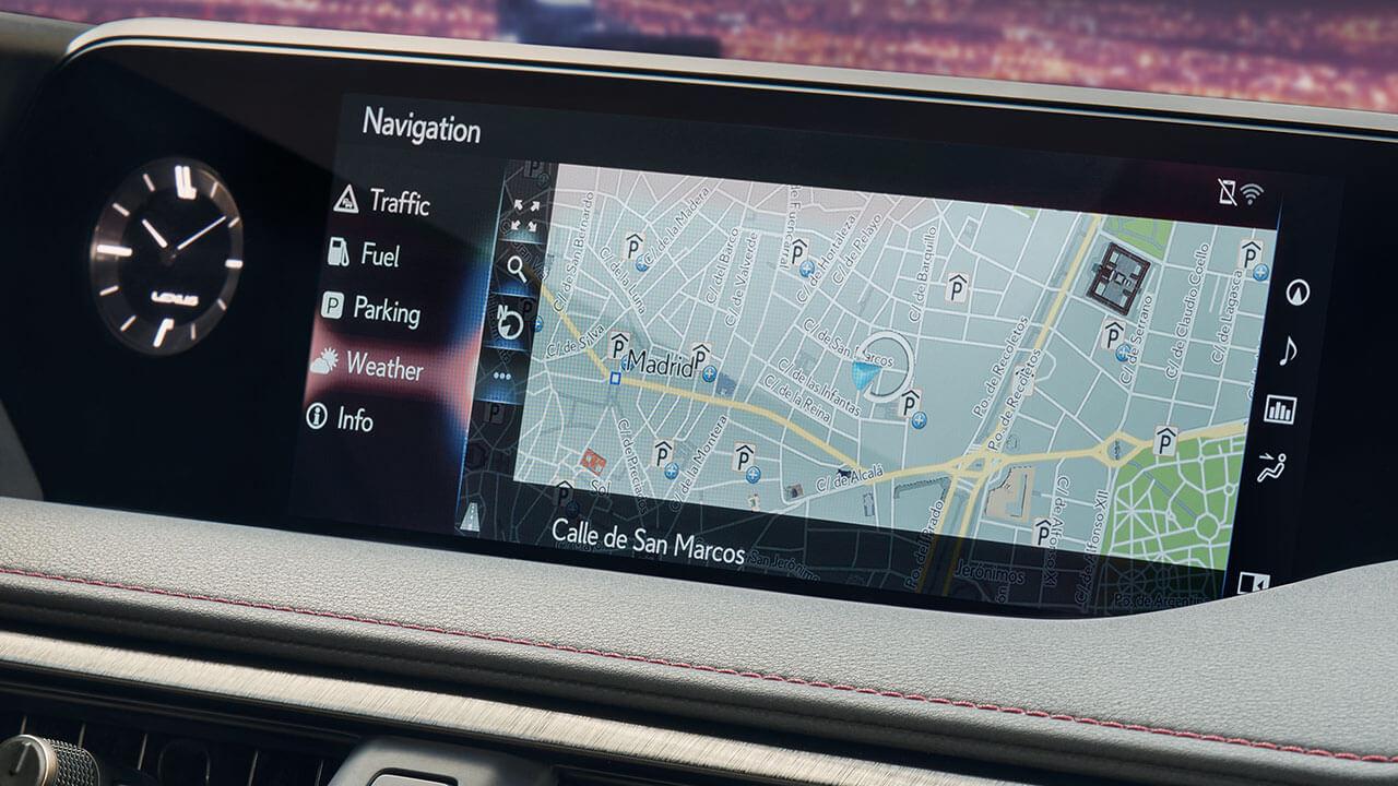 2020 lexus premium navigation