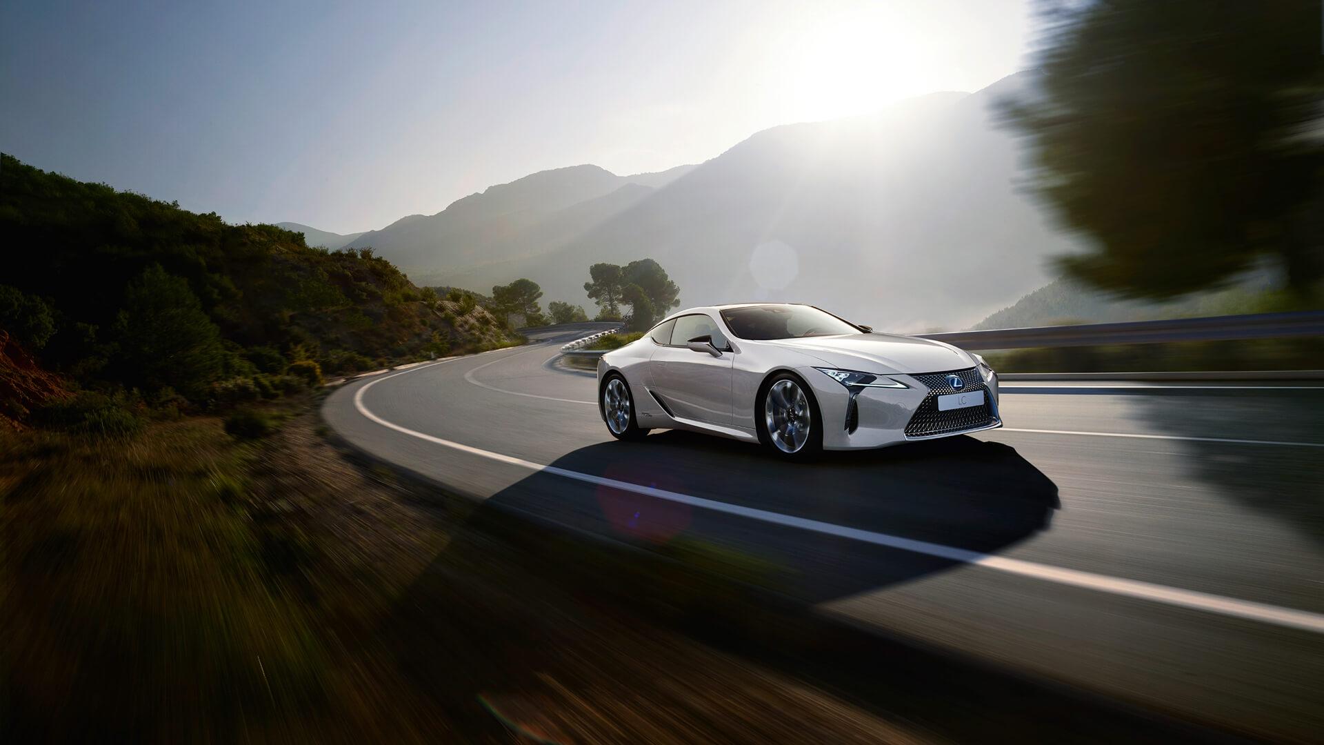 lexus lc 500 driving dynamics
