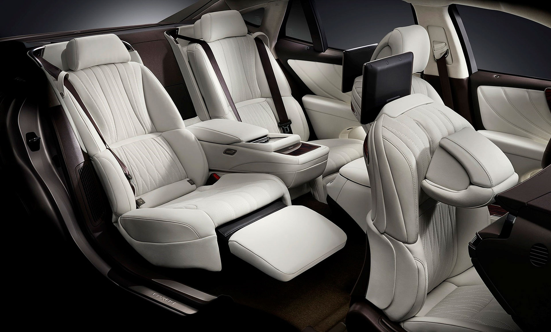 2018 lexus ls features rear seat adjustment ottoman massage