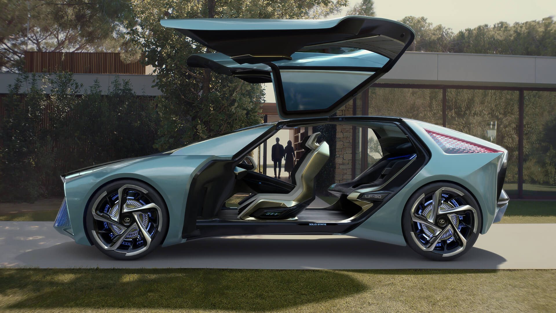 2019 lexus concept lf30 video player
